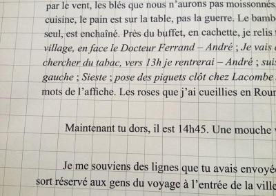 L'écriture m'a donné une enveloppe de Dorothée Volut