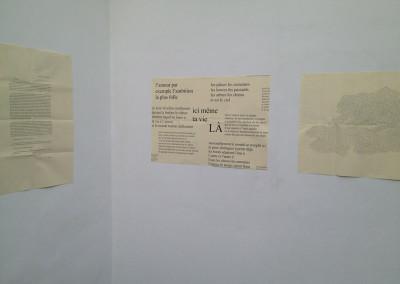 Lancement des posters de Marie-Luce Ruffieux et Dominique Meens et exposition des posters - Librairie histoire de l'œil, Marseille, 1er décembre 2012.<br /> Posters : Dorothée Volut - Ian Monk - Éric Giraud