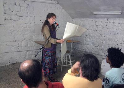 Dorothée Volut et Contre-mur àArles