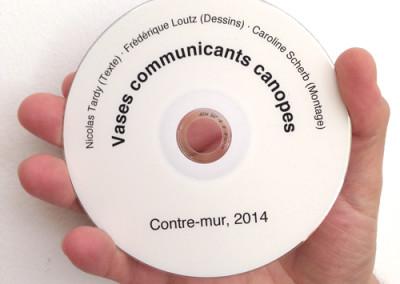 Vases communicants canopes de Frédérique Loutz / Nicolas Tardy