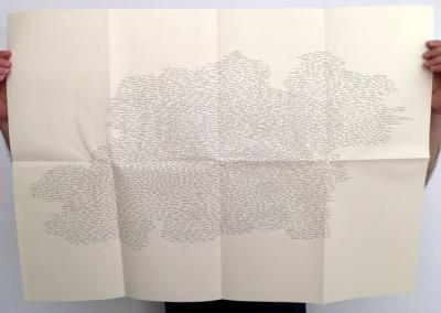 <i>Name Dropping ou l'autobiographie des noms</i>, poster de Éric Giraud