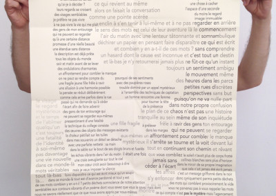 <i>Les accolades</i>, poster de Pierre Ménard