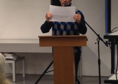 """Lecture de <a href=""""http://www.contre-mur.com/project/eric-simon/"""">Eric Simon</a> - Présentation des éditions Contre-mur au Frac Paca - 21 janvier 2017"""