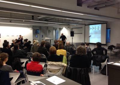 """Lecture de <a href=""""http://www.contre-mur.com/project/bruno-fern/"""">Bruno Fern</a> - Présentation des éditions Contre-mur au Frac Paca - 21 janvier 2017"""