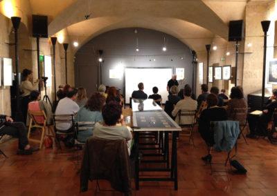 """Lecture de <a href=""""http://www.contre-mur.com/project/jluc-lavrille/"""">Jean-Luc Lavrille</a> - Présentation des éditions Contre-mur au cipM - 5 mai 2018"""