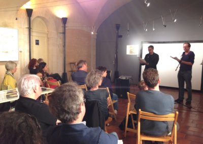 """Lecture de <a href=""""http://www.contre-mur.com/project/ian-monk/"""">Ian Monk</a> avec la participation de <a href=""""http://www.contre-mur.com/project/nicolas-tardy/"""">Nicolas Tardy</a> - Présentation des éditions Contre-mur au cipM - 5 mai 2018"""